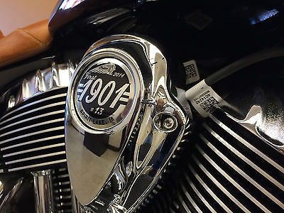 Indian : CHEIF VINTAGE Wow!!  NEW 2014 INDIAN VINTAGE #13 OF #1901, BLK/W TAN, 111INCH MOTOR!! WE TRADE