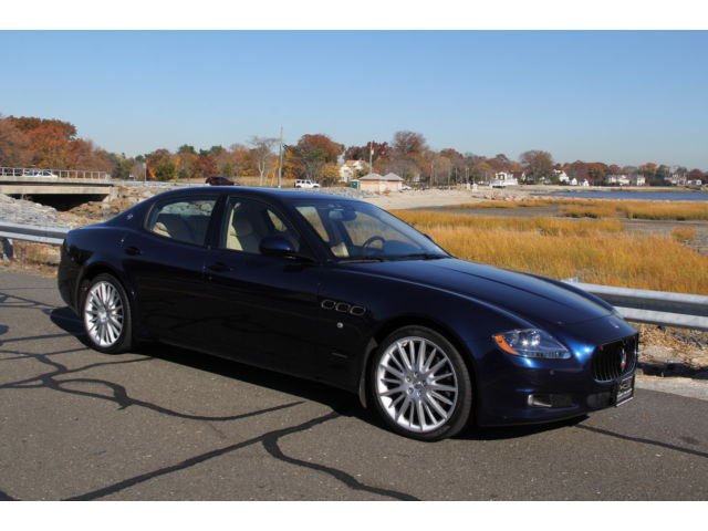 Maserati : Quattroporte QUATTROPORTE 2013 maserati quattroporte s 7500 miles showroom condition well maintained