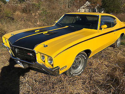 Buick : Other Gs, GSX, 1970 gsx stage 1 yellow tribute nice muscle car rare antique car great price