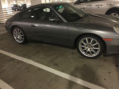 Porsche : 911 Carrera 2 2001 porsche carrera coupe seal grey metallic