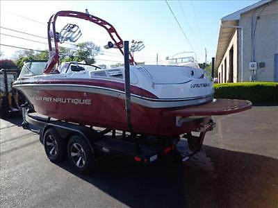 12 Nautique 210 Super Air Wake Board / Ski Boat