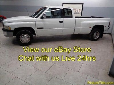 Dodge : Ram 3500 Dually 2WD 5 Spd 5.9 Diesel 97 ram 3500 2 wd dually 5 speed 12 valve 5.9 cummins diesel texas