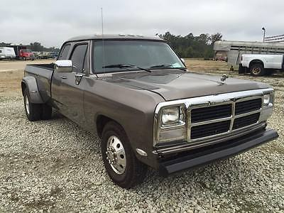 Dodge : Other Pickups slt 1993 dodge ram 3500 diesel