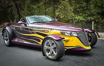 Plymouth : Prowler Prowler State of the Art Roadster Prowler 1999 plymouth prowler state of the art roadster w trailer
