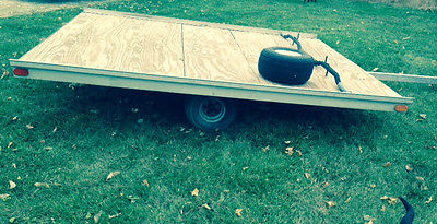 2000 2 Place Snowmobile Trailer