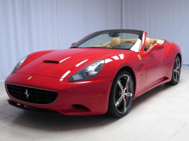 Ferrari : California 2dr Conv 2013 ferrari california 30 rosso corsa over beige leather the only color