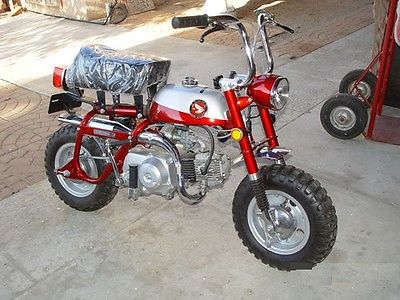 Honda : Other 1969 honda z 50 mini trails ko and k 1 silver tag collector quality
