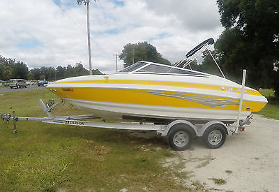 Larson 2007 LXI 208 BOAT BOWRIDER INBOARD/OUTBOARD FISHING RECREATION SKIING