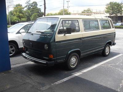 Volkswagen : Bus/Vanagon Kombi Standard Passenger Van 3-Door REDUCED 1981 Volkswagen Vanagon Kombi Standard Passenger Van 3-Door 2.0L