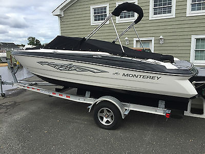 2013 Monterey 204FSX Bowrider - Purchased new and NEVER SPLASHED!!