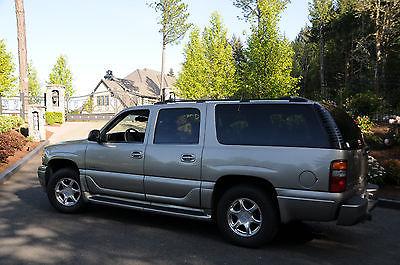 GMC : Yukon Denali Sport Utility 4-Door 2001 gmc denali yukon xl awd