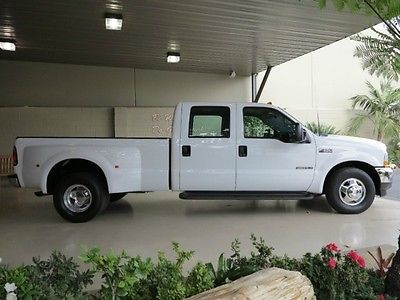 Ford : F-350 FreeShipping F-350 7.3L Diesel Crew Cab Long Bed XLT Dually 52K Miles! CREAM PUFF! GARAGED!!!