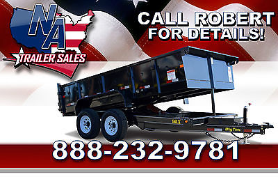 2015 Big Tex Trailers Closeout Model - 14' Dump Trailer 14LX-14
