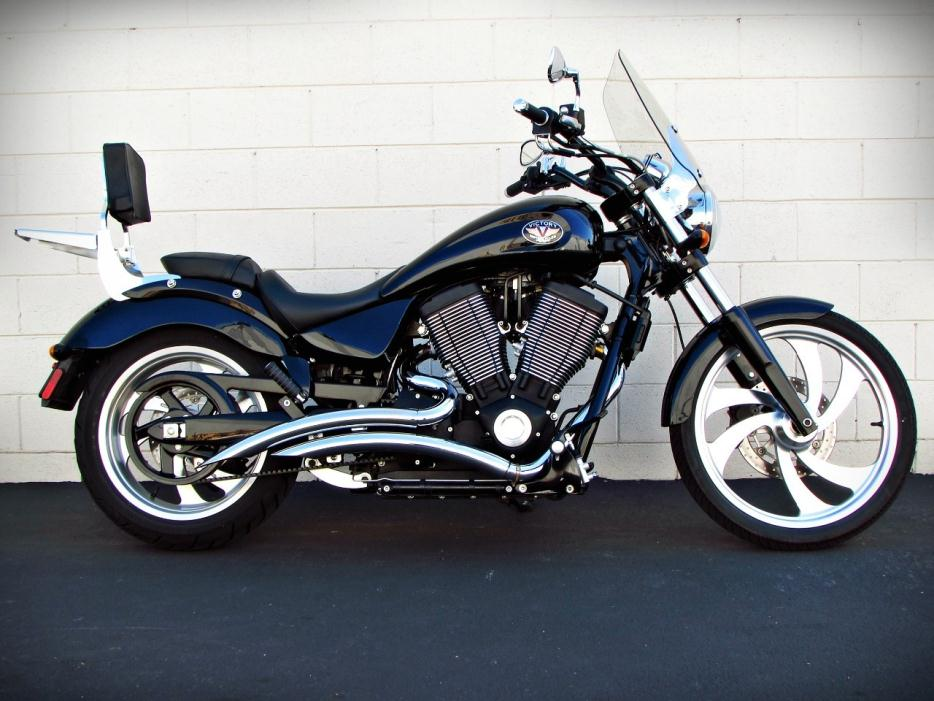 2005 victory vegas 8 ball motorcycles for sale. Black Bedroom Furniture Sets. Home Design Ideas