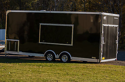 Mobile Mustang Motorcycle Dyno Trailer combo