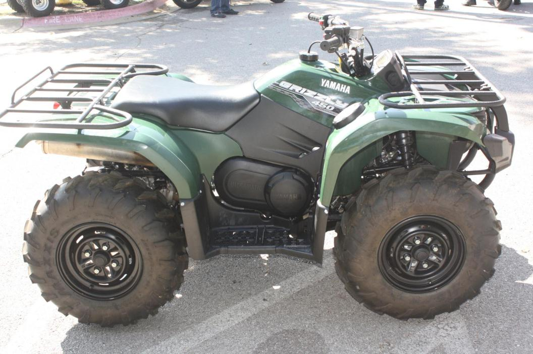 Yamaha grizzly 450 4wd motorcycles for sale in arkansas for 2016 yamaha grizzly 450