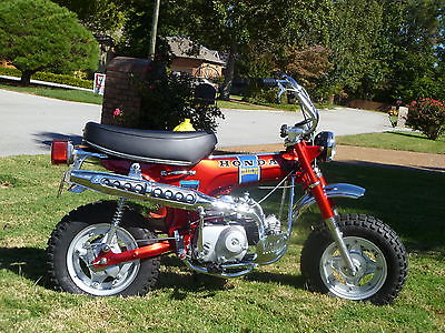 Honda : CT Honda K1 CT70 Mini Trail Fully Restored with Title in Candy Ruby Red
