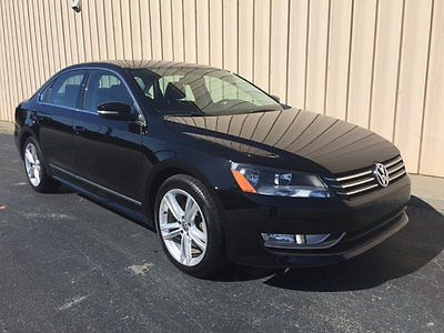 Volkswagen : Passat TDI DIESEL SEL Sedan LOADED 2013 volkswagen passat tdi sel 45 mpg diesel loaded navigation only 27 000 miles