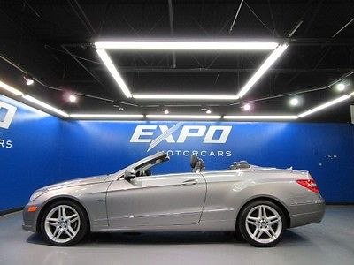 Mercedes-Benz : E-Class E350 Cabriolet Mercedes-Benz E350 Cabriolet Nav Heated Seats Harman Kardon Camera