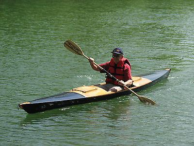 Plans for 15 1/2 Foot skin on frame kayak (heat shrink Dacron over wood frame).