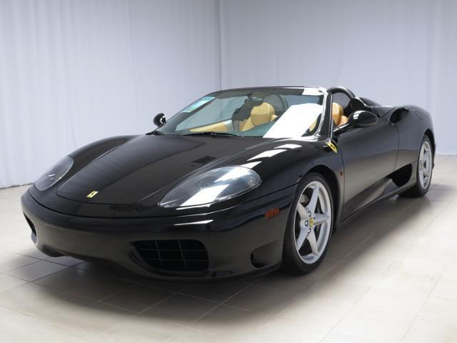 Ferrari : 360 2dr Converti 2003 ferrari f 360 f 1 spider nero over beige leather excellent condition