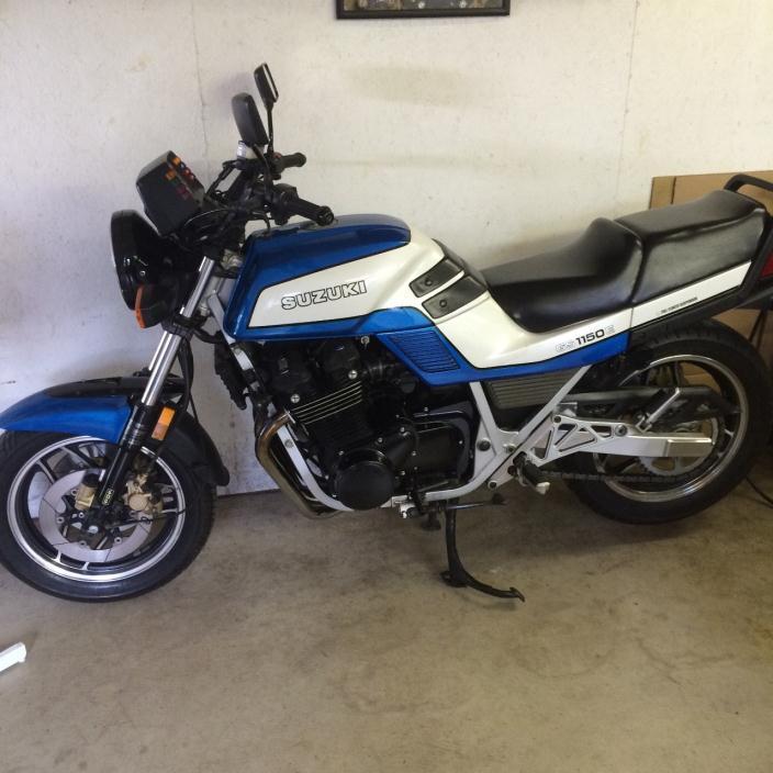 1985 Suzuki Gs 1150