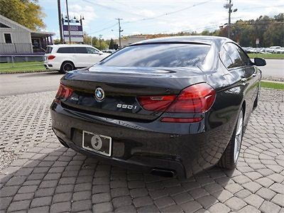 BMW : 6-Series Gran Coupe 2015 bmw 6 series 650 xdrive gran coupe in black with black interior m sport edt