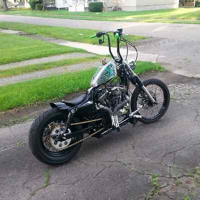 Harley-Davidson : Sportster 2005 harley davidson 1200 sportster custom bobber
