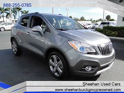 Buick : Encore Leather 2014 buick encore leather like new one owner power auto air ac 32 mpg