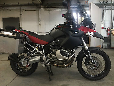 BMW : R-Series BMW R1200GS Adventure Ready Low Miles-Everything included-Tools, Video equip +