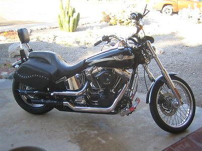 Harley-Davidson : Softail 2003 harley davidson fxstdi 100 th anniversary deuce