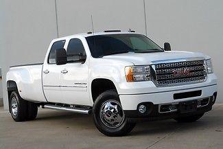 GMC : Sierra 3500 DRW 2011 gmc sierra 3500 hd denali 4 x 4 clean carfax