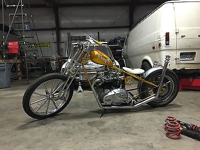 Other Makes : Custom Triumph Chopper/Bobber