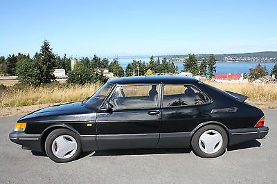 Saab : 900 SPG TURBO 1988 saab spg turbo black with grey leather interior