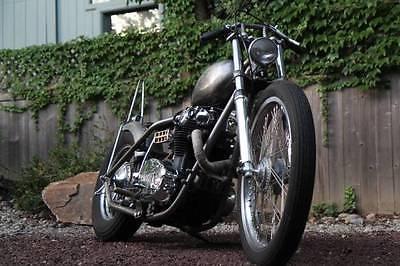 Custom Built Motorcycles : Bobber 1983 yamaha xs 650 custom built bobber