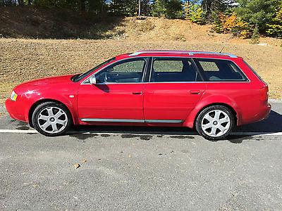 Audi : S6 Avant Wagon 4-Door S6, Avant, 2002, red