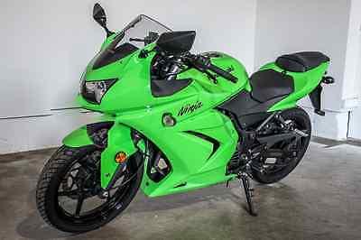 Kawasaki : Ninja 2008 kawasaki ninja 250 cc green 7 000 orginal miles low reserve financing call