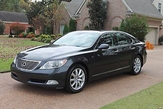 Lexus : LS 460 One Owner Perfect Carfax Mark Levinson Sound Heated and Cooled Seats New Tires