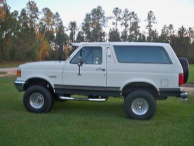 Ford : Bronco XLT 1990 ford bronco xlt