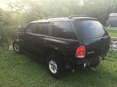 Dodge : Durango SLT 1999 dodge durango 4 x 4 for parts with additional frame accessories clear title