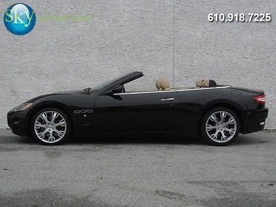 Maserati : Gran Turismo GT C 143 225 msrp gt convertible skyhook heated seats nav bose bluetooth 1 owner 4.7