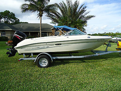 2004 SEA RAY 185 Sport 18' Mercury 125hp Great Condition Trailer