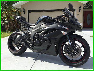 Kawasaki : Ninja 2012 kawasaki ninja zx 6 r excellent condition we finance