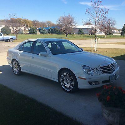 Mercedes-Benz : E-Class E350 SPORT SUNROOF ALLOY WHEELS 2008 e 350 4 matic sport sedan arctic white cashmere interior 46 944 miles