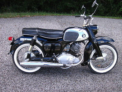 Honda : Other 1965 honda benley dream 150 cc runs fantastic clean delivery poss to fl ga sc nc