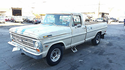 Ford : F-250 CAMPER SPECIAL 1969 ford f 250 ranger special california