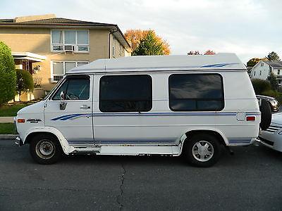 Chevrolet G20 Van Chevy Extended Cargo 3 Door Handicap 1995
