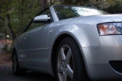 Audi : A4 Cabriolet Convertible 2-Door 2003 audi a 4 cabriolet convertible 2 door 3.0 l