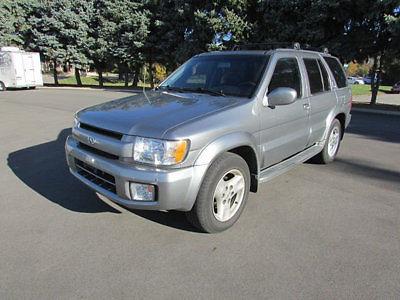 Infiniti : QX4 4dr SUV Luxury 4WD 4 dr suv luxury 4 wd suv automatic gasoline 3.5 l v 6 cyl silver