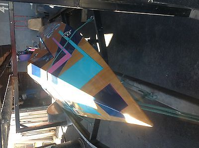Love Bros. FER APBA Runabout 3cyl Evinrude Race Boat 13' 08